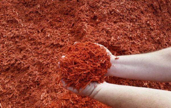 Color Enhanced Mulch